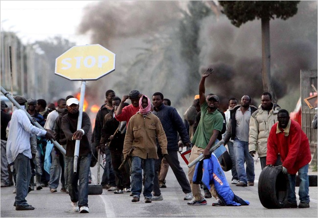 Migrant riots